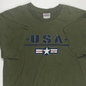 Adult large USA t-shirt
